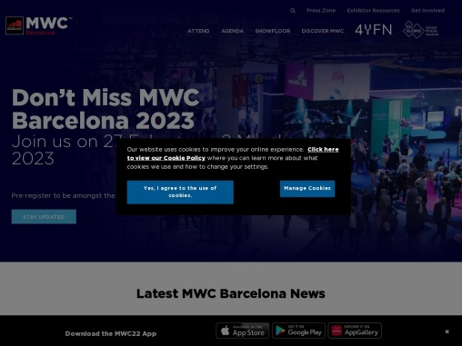 Join us in Barcelona #MWC21 | MWC Barcelona 2021