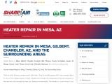 Heater Repair in Mesa, Arizona