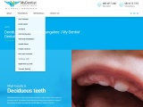 Best Dental Deciduous Treatment In Bangalore– MydentistNow Complete Dental Solution.