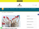 Top 10 Diploma Courses in India