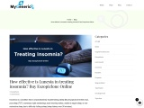Effective is Lunesta in Treating Insomnia