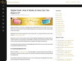 Digital Gold: How It Works & How Can You Deal In It?