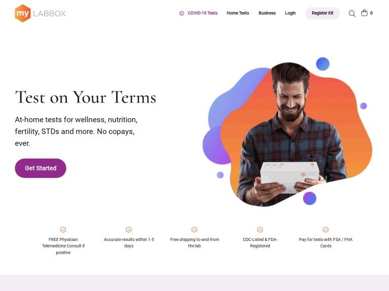 Mylab Box screenshot