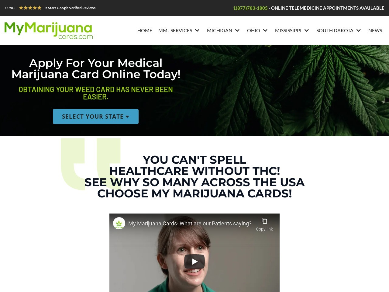 Obtain all services of Michigan Medical Marijuana