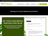 Get medical marijuana in Illinois