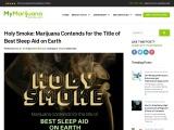 Marijuana as a sleep aid services