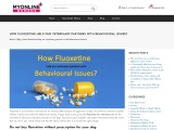 Fluoxetine for veterinary use: Behavioral Issues Treatment by Prozac