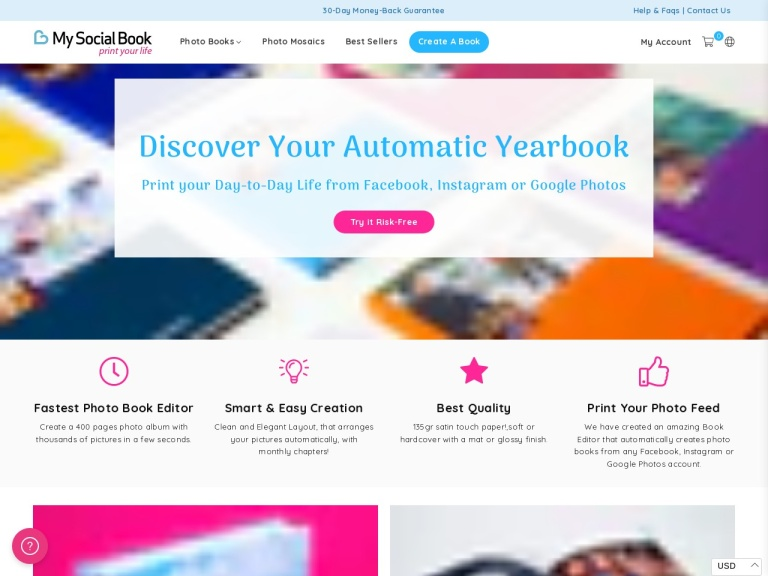 My Social Book screenshot