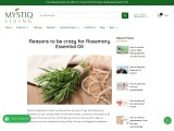 Reasons to be crazy for Rosemary Essential Oil