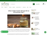 What makes Sweet Almond Oil an all-purpose fixer?