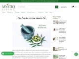 Neem oil has been utilised in aesthetic and medical uses for thousands of years.