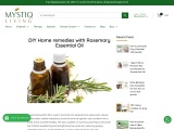 DIY Home remedies with Rosemary Essential Oil