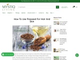 How To Use Flaxseed For Hair And Skin