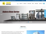 Industrial Tunnel Ovens, Bakery Rotary Rack Oven, Burger Buns Production Line For Sale