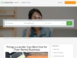 Things a Lender Can Rent Out for Their Rental Business