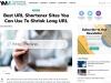 Shrink URL