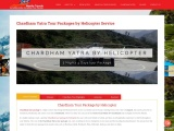 Chardham Yatra Tour Package By Helicopter – 2021
