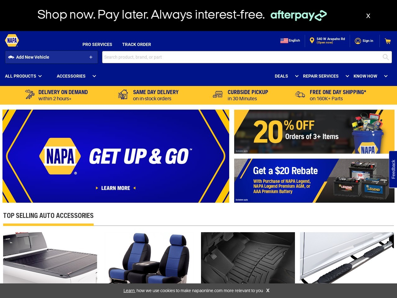 thumbnail image of NAPA Auto Parts - Genuine Parts Company