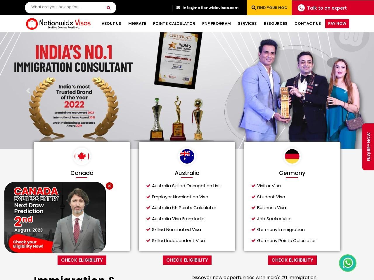Canada PR Visa Express Entry Program – Apply For PR Visa In Canada