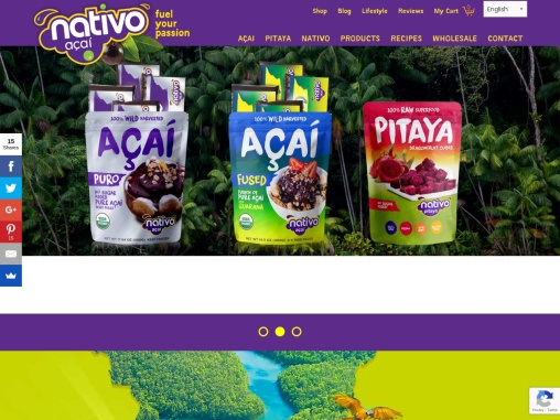 Nativo Amazon Acai Company Florida