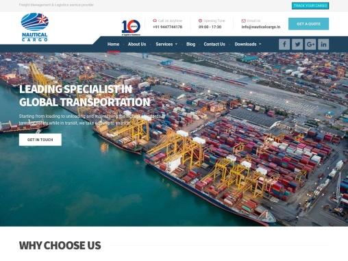 Nautical Cargo Pvt. Ltd | Top logistics companies in India