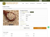 Sorghum Seeds Suppliers in India