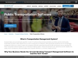 Public Transportation Software