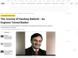 The Journey Of Sandeep Bakhshi – An Engineer Turned Banker