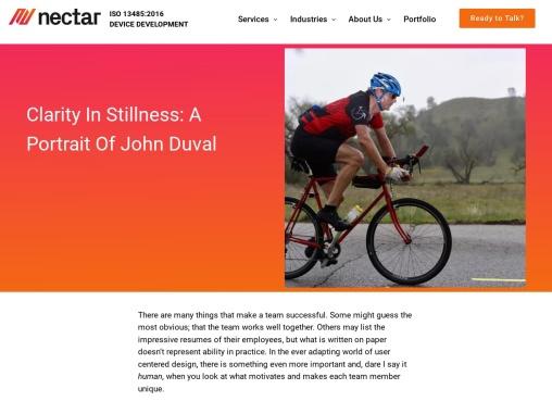 Clarity in Stillness: A Portrait of John Duval