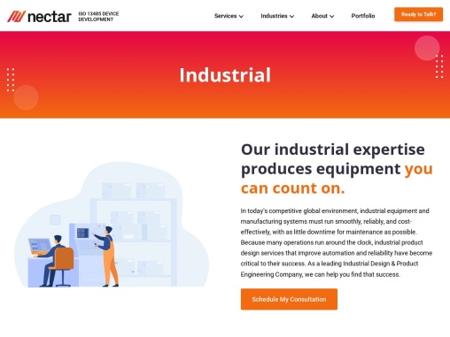 Best Industrial Design Firms in California – Nectar Product Development