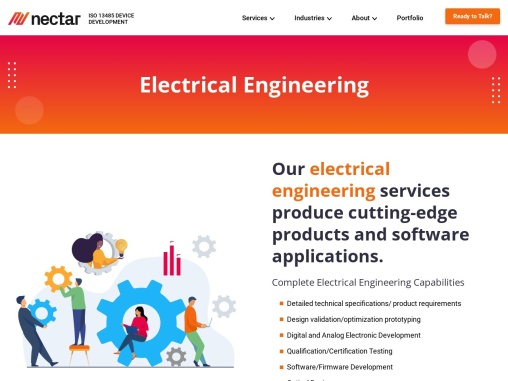 Find the Best Electrical Engineering Services in USA by Nectar Product Development