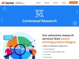 Get Contextual Research Design Services at Nectar Product Development