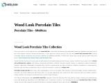 Quality Wood Look Porcelain Tiles – Neelson Tiles