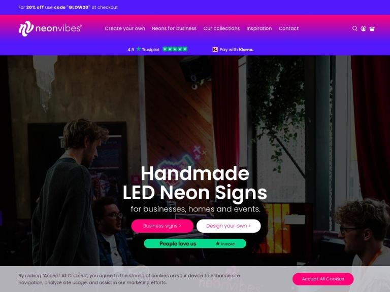 Neon Vibes screenshot
