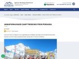 Annapurna Base Camp Trekking Information