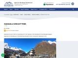 Manaslu Circuit Trek in the lap of 8th-Highest Mountain in the World -Manaslu 8,163m
