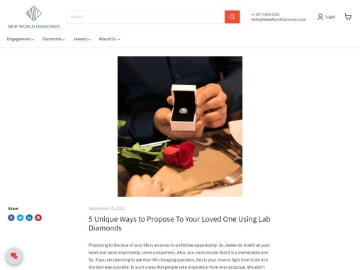 5 Unique Ways to Propose To Your Loved One!