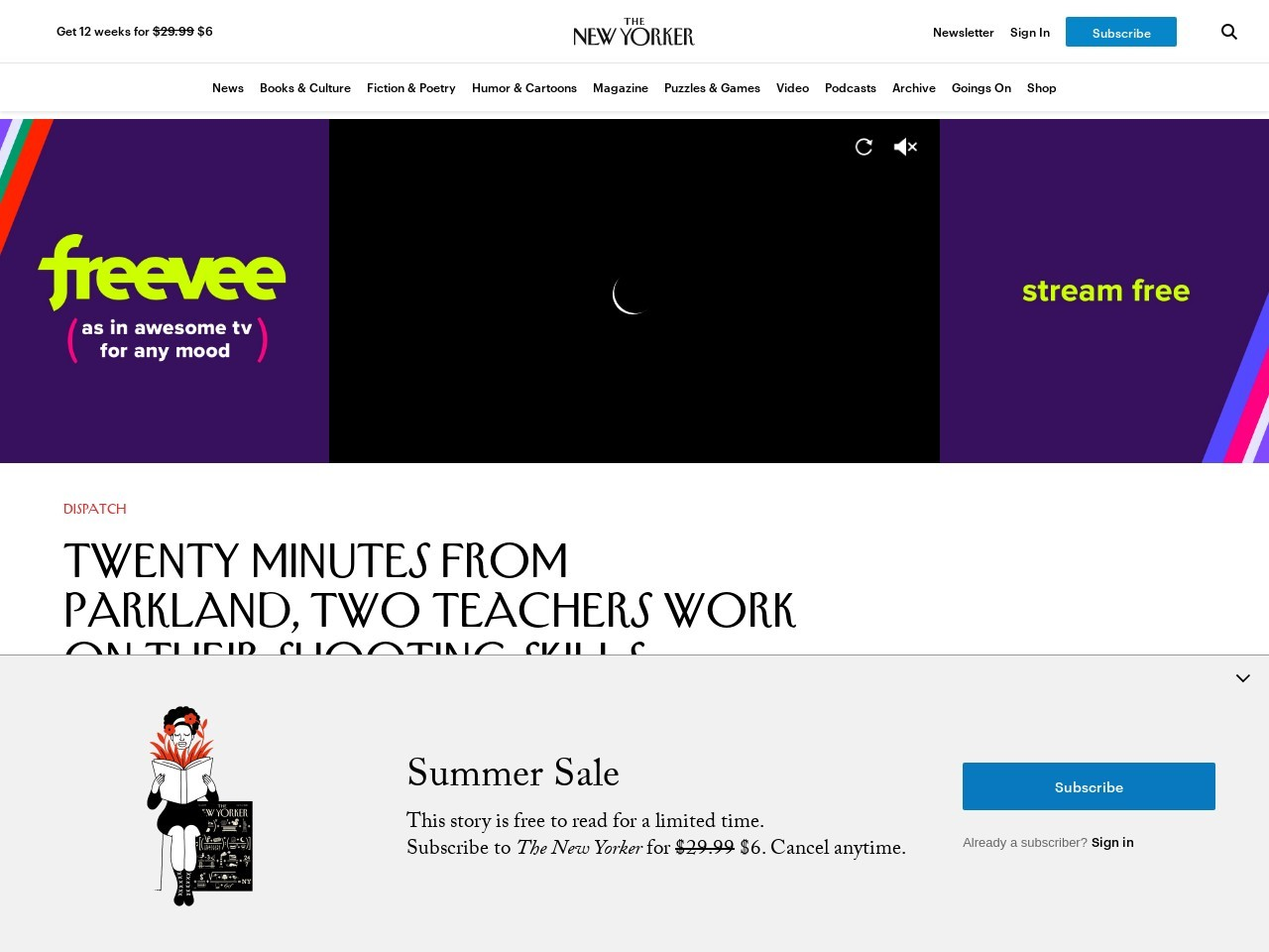 Twenty Minutes from Parkland, Two Teachers Work on Their Capturing…