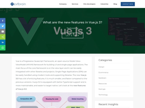 What are the new features in Vue.js 3