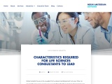 CHARACTERISTICS REQUIRED FOR LIFE SCIENCES CONSULTANTS TO LEAD