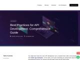 Best Practices for API Development