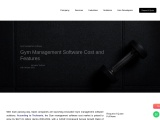 Gym Management Software Cost and Features