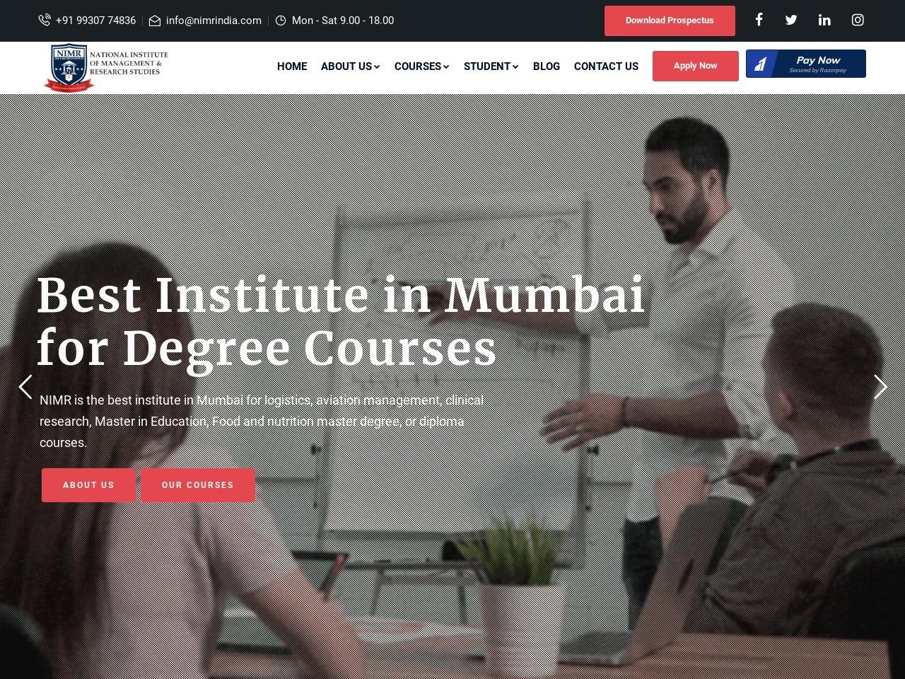 MBA in Healthcare Management in Mumbai