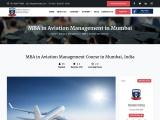 MBA in Aviation Management in Mumbai