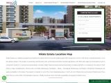 Nirala Estate Noida Extension Location Map