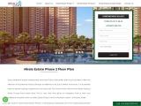 Nirala Estate Phase 2 Floor Plan, Master plan, Site plan, Unit plan