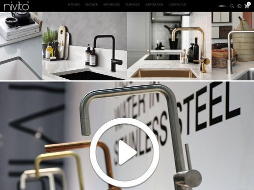 Copper kitchen mixer tap for your beautiful interior
