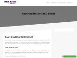Apply for cash credit limit/OD limit for your business