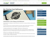How To Get No Closing Cost Refinance — The Quick Guide | CC