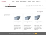 Flat Elevator Cable Manufacturer & Supplier in Indonesia